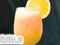 Апельсиновий крюшон із шампанським