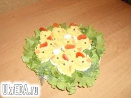 Апетитна закуска «Курчата»
