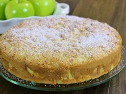 Швидкий яблучний пиріг
