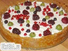 Чізкейк з літніми ягодами