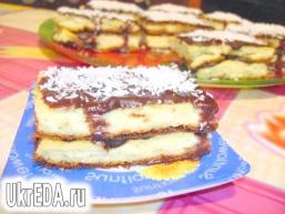 Десерт «Суфле з шоколадом»