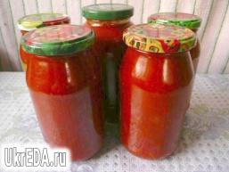 Домашній томатний соус до спагетті і піці