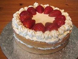 Домашній торт зі сметанним кремом