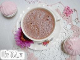Горячий шоколад із зефіром