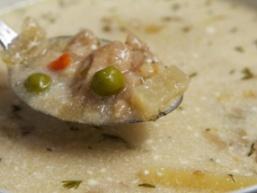 Грибний суп Із заморожених грібів