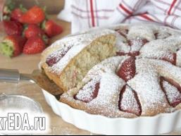 Італійський тарт з полуницею