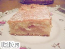 Яблучно - лимонний пиріг