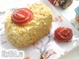 Яблучне тістечко з карамелізованими вівсяними пластівцями