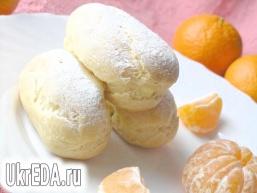 Еклери з мандариновий кремом
