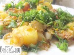 Кабачки тушковані з овочами