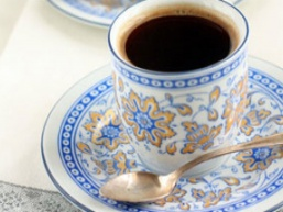Карамельний каву в турці