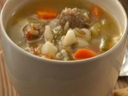 Картопляний суп з фрикадельками