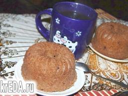 Кавово-шоколадні кекси