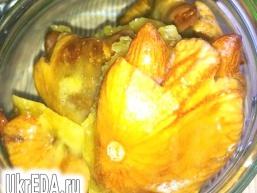 Цукерочки з інжиру в апельсинової карамелі