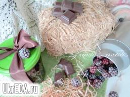 """Конфітюр """"Ожина-шоколад"""""""