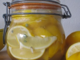 Консервований лимон з цукром