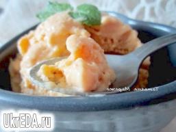 Крем-глясе з манго і йогуртом