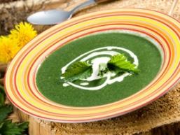 Крем-суп з кропиви