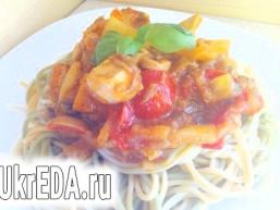 Курячий соус до спагетті