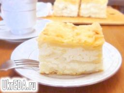 Лінива ачма або пиріг з лаваша з сиром.