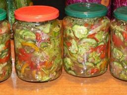 Літній салат на зиму