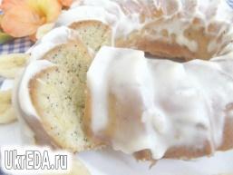 Лимонний кекс з маком