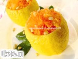 Лимони з морквяним салатом