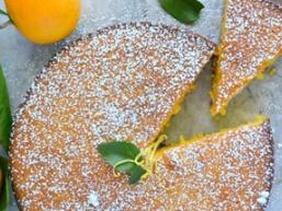 Мигдальний пиріг з апельсинами