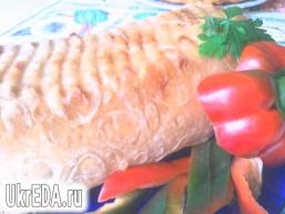 М'ясний кекс в лаваші