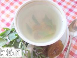 М'ятно-інжировий чай