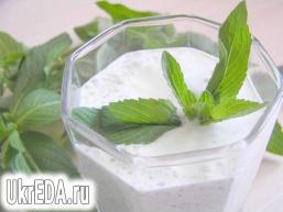 М'ятний йогурт