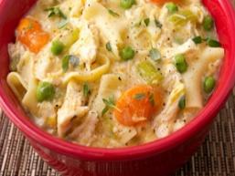 Молочний суп з вермішеллю