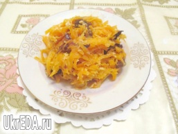 Морква з чорносливом