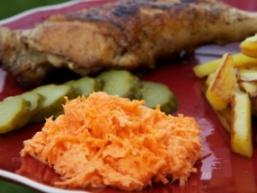 Морквяний салат