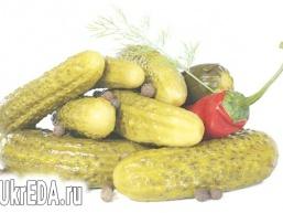Огірки консервовані