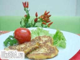 Оладки з цвітної капусти