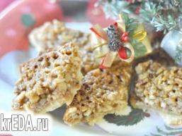 Горіховий потрійний десерт