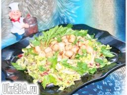 Оригінальний салат «Морський бриз»