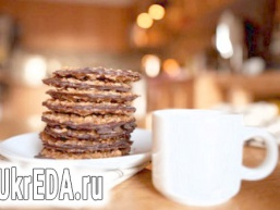 Печиво з кавовою глазур'ю