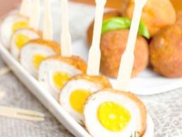 Перепелині яйця по-шотландськи