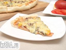 Піца з фаршем «по-домашньому»