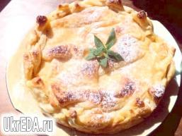 Пиріг «Яблука в коньяку»