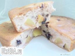 Пиріг з нектарином і шоколадом