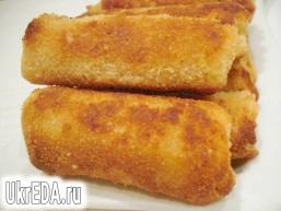 Пиріжки з тостерний хліба