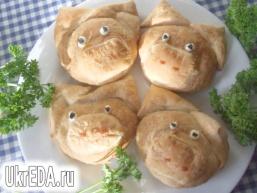 """""""Поросята"""" з листкового тіста"""
