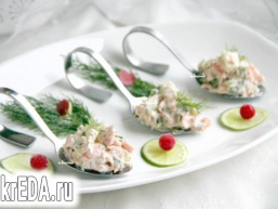 Рійет з лосося Rillettes de saumon