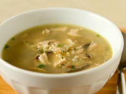 Рисовий суп з індічкі
