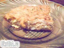 Риба в сирному суфле