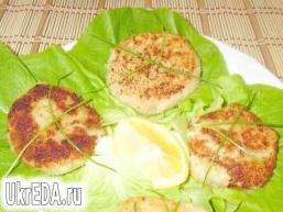 Рибно-картопляні котлети