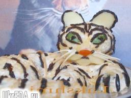 """Салат """"Білий тигр"""""""